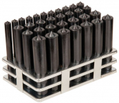 "1/2"" to 1"" 33-Piece Transfer Punch Set"