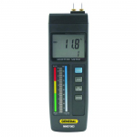 Pin-Type LCD Moisture Meter with LED Bar Graph