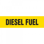 """Diesel Fuel"" Plastic Sheet Pipe Marker"
