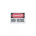 Safety Sign - Danger High Voltage