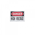 Safety Sign - Danger High Voltage Keep Out