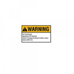 Flash Protection Signs and Label 7X10