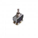 Heavy-Duty Toggle Switch, (On)-Off-(On)