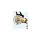 Switch,Chain,Spst,On-Off,Ld,Brass plated