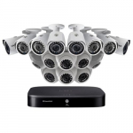 16 Channel Security System with 16 HD Cameras, 3TB HDD