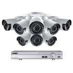 2K HD 8 Channel Security System with 8 Outdoor Cameras