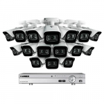 16 Channel Security System with 16 HD Outdoor Cameras