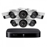 16 Channel Security System with 8 Cameras, 2 TB HDD