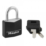 "1-3/16"" Wide Covered Solid Body Padlock"