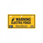 """Electric Fence"" Warning Sign"