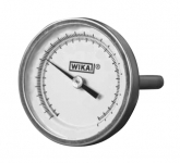 "TI.20 Bimetal Thermometer 6"" -40/160 F, Glass, 1/4"""