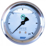 213.53DW Bourdon Tube Pressure Gauge 15 PSI