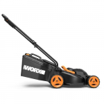 "14"" Lawn Mower with Mulching & Intellicut, 2x20V"