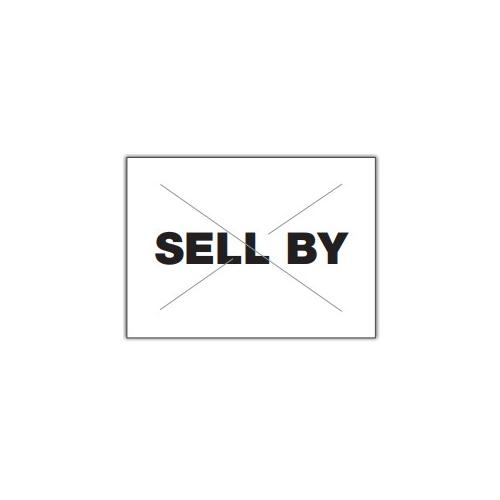 "Order 2216-08620 By Garvey GX2216 White/Black ""Sell By"