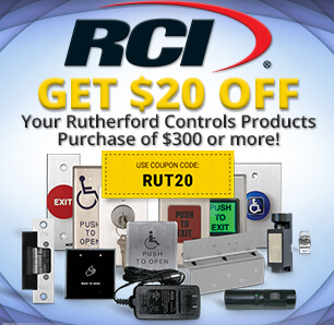 Save on Rutherford Controls Products!